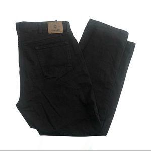 Wrangler black denim jeans. 40 x 30